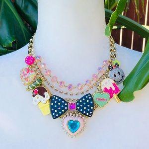 Vintage Betsey Johnson Candyland necklace